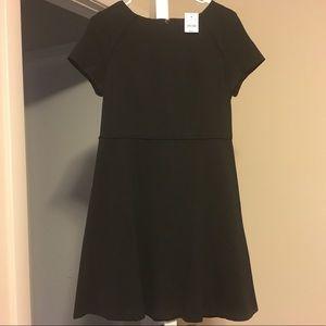 J CREW short sleeve dress (black)